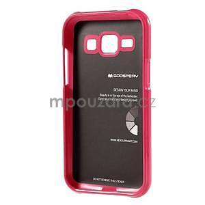 Rose gelový obal na Samsung Galaxy J1 - 5