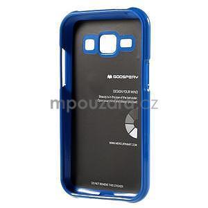 Modrý gelový obal na Samsung Galaxy J1 - 5