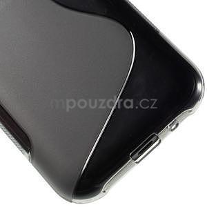 Šedý gelový s-line obal Samsung Galaxy J1 - 5