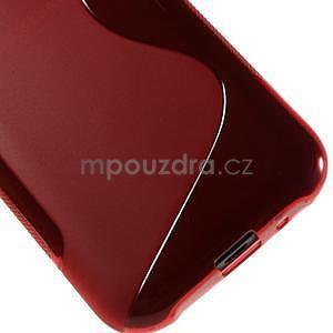 Červený gelový s-line obal Samsung Galaxy J1 - 5