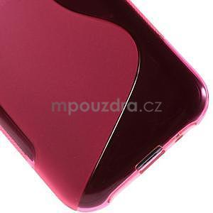 Rose gelový s-line obal Samsung Galaxy J1 - 5