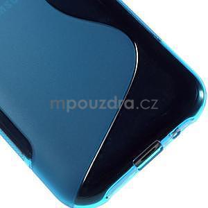 Modrý gelový s-line obal Samsung Galaxy J1 - 5
