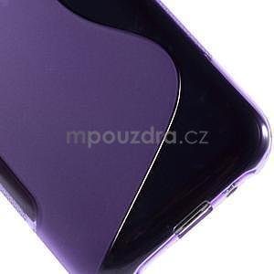 Fialový gelový s-line obal Samsung Galaxy J1 - 5
