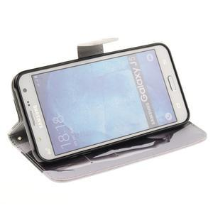 Standy peněženkové pouzdro na Samsung Galaxy J5 - sexy dívka - 5