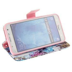 Standy peněženkové pouzdro na Samsung Galaxy J5 - BVL - 5