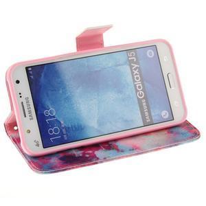 Standy peněženkové pouzdro na Samsung Galaxy J5 - malba - 5