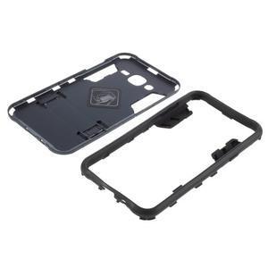 Odolný kryt 2v1 se stojánkem na Samsung Galaxy J5 - tmavěmodrý - 5