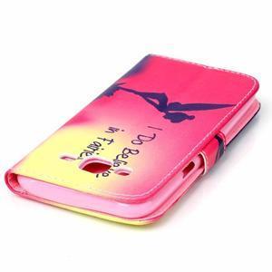 Pictu peněženkové pouzdro na Samsung Galaxy J5 - víla - 5
