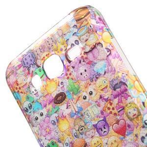 Gloss gelový obal na Samsung Galaxy J5 - smajlíci - 5