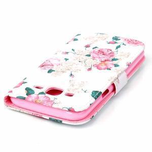 Pictu peněženkové pouzdro na Samsung Galaxy J5 - květiny - 5