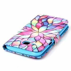 Pictu peněženkové pouzdro na Samsung Galaxy J5 - barevné lístky - 5