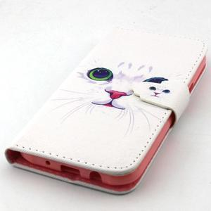Knížkové pouzdro na mobil Samsung Galaxy J5 - kočička - 5