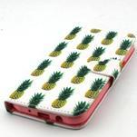 Knížkové pouzdro na mobil Samsung Galaxy J5 - ananasy - 5/6