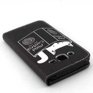 Knížkové pouzdro na mobil Samsung Galax J5 - kočka čte - 5