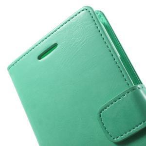 Mercury PU kožené pouzdro na mobil Samsung Galaxy J5 - azurové - 5