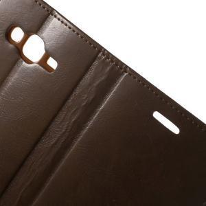 Mercury PU kožené pouzdro na mobil Samsung Galaxy J5 - hnědé - 5
