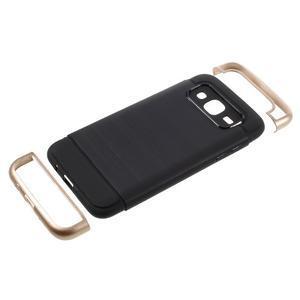 Odolný obal na mobil Samsung Galaxy J5 - champagne - 5