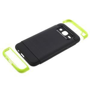 Odolný obal na mobil Samsung Galaxy J5 - zelený - 5