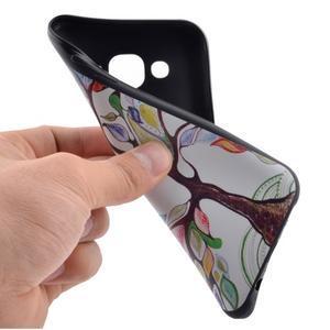 Jelly gelový obal na mobil Samsung Galaxy J5 - malovaný strom - 5