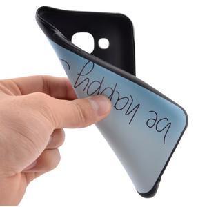 Jelly gelový obal na mobil Samsung Galaxy J5 - be happy - 5