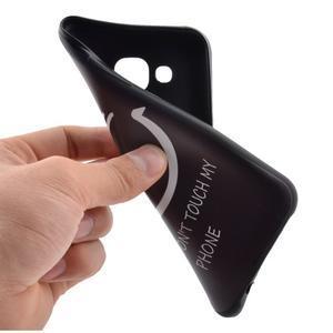 Jelly gelový obal na mobil Samsung Galaxy J5 - nedotýkat se - 5