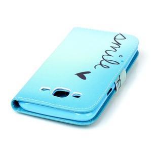 Pictu peněženkové pouzdro na Samsung Galaxy J5 - smile - 5