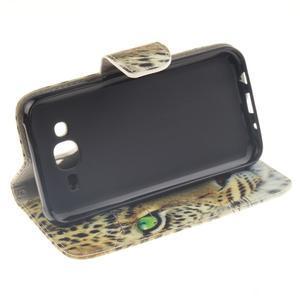 Standy peněženkové pouzdro na Samsung Galaxy J5 - gepard - 5
