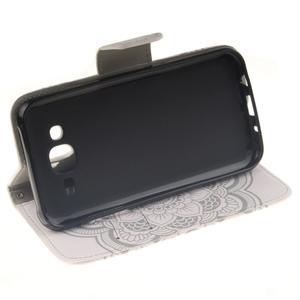 Standy peněženkové pouzdro na Samsung Galaxy J5 - mandala - 5