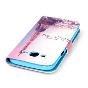Pictu peněženkové pouzdro na Samsung Galaxy J5 - Eiffelova věž - 5