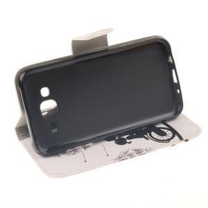 Standy peněženkové pouzdro na Samsung Galaxy J5 - láska na kole - 5