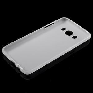 Matný gelový obal na Samsung Galaxy J5 (2016) - bílý - 5