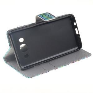 Style peněženkové pouzdro na Samsung Galaxy J5 (2016) - geo tvary - 5