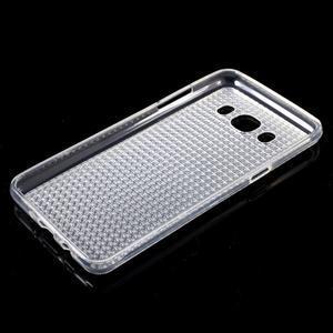 Diamonds gelový obal mobil na Samsung Galaxy J5 (2016) - transparentní - 5