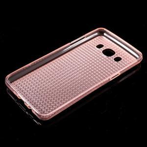Diamonds gelový obal mobil na Samsung Galaxy J5 (2016) - růžový - 5