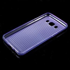 Diamonds gelový obal mobil na Samsung Galaxy J5 (2016) - fialový - 5