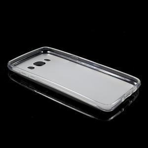 Oboustranně matný gelový obal na Samsung Galaxy J5 (2016) - bílý - 5