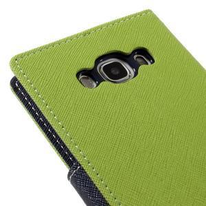 Diary PU kožené pouzdro na mobil Samsung Galaxy J5 (2016) - zelené - 5