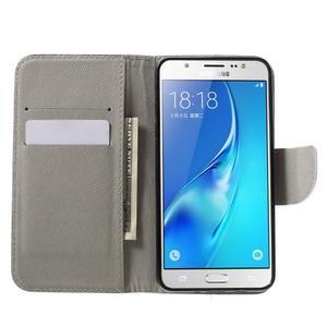 Nice peněženkové pouzdro pro Samsung Galaxy J5 (2016) - zlej méďa - 5