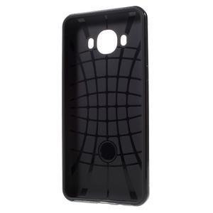 Hybridní obal 2v1 na mobil Samsung Galaxy J5 (2016) - černý - 5