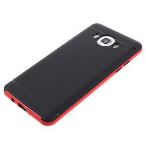 Hybridní obal 2v1 na mobil Samsung Galaxy J5 (2016) - červený - 5