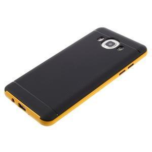 Hybridní obal 2v1 na mobil Samsung Galaxy J5 (2016) - žlutý - 5