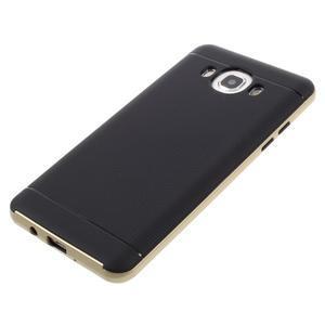 Hybridní obal 2v1 na mobil Samsung Galaxy J5 (2016) - zlatý - 5