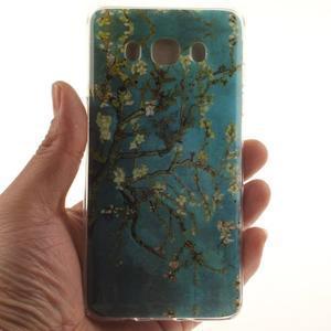 Gelový obal na mobil Samsung Galaxy J5 (2016) - kvetoucí strom - 5