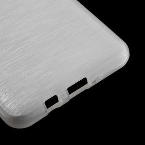 Brushed gelový obal na mobil Samsung Galaxy J5 (2016) - bílý - 5