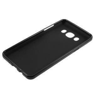 Matný gelový obal na Samsung Galaxy J5 (2016) - černý - 5