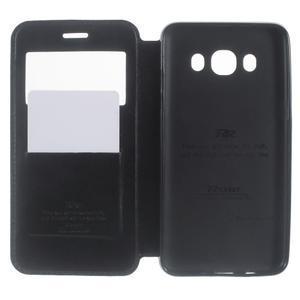 Royal pouzdro s okýnkem na Samsung Galaxy J5 (2016) - černé - 5