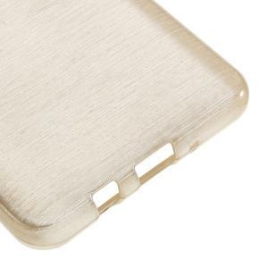 Brushed gelový obal na mobil Samsung Galaxy J5 (2016) - champagne - 5