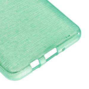 Brushed gelový obal na mobil Samsung Galaxy J5 (2016) - cyan - 5