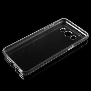 Transparentní gelový obal na mobil Samsung Galaxy J5 (2016) - 5