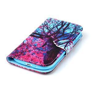 Emotive peněženkové pouzdro na Samsung Galaxy S3 - strom - 5